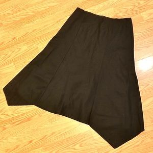 *Host Pick* Black A line Wool Skirt